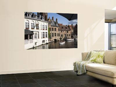 Tourist Boats on One of the Central Canals-Krzysztof Dydynski-Giant Art Print