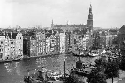 Tourist Photo in the Netherlands, Ca. 1910--Photographic Print