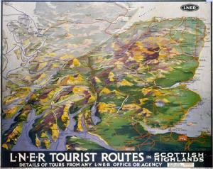 Tourist Routes in Scottish Highlands