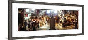 Tourists in a Market, Grand Bazaar, Istanbul, Turkey