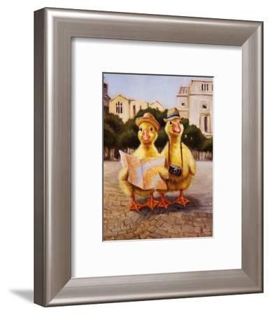 Tourists-Lucia Heffernan-Framed Art Print