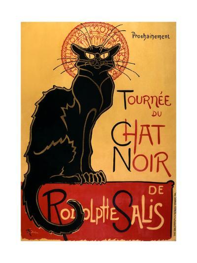 Tourn?e du Chat Noir, c.1896-Th?ophile Alexandre Steinlen-Art Print