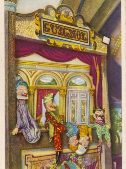 Tournai, Belgium Traditional Guignol De La Maison Tournaisienne (Puppet Theatre)--Photographic Print