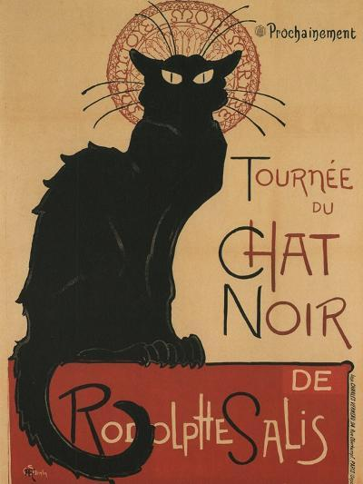 Tournee Du Chat Noir, 1896-Th?ophile Alexandre Steinlen-Giclee Print