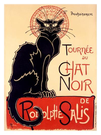 Tournée du Chat Noir, c.1896-Th?ophile Alexandre Steinlen-Giclee Print