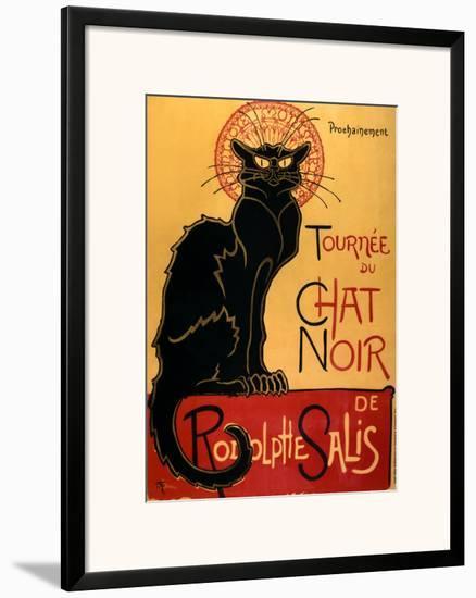 Tournée Du Chat Noir C 1896 Th Ophile Alexandre Steinlen Framed
