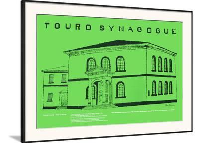 Touro Synagogue-Ben Shahn-Framed Art Print