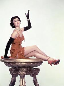 Tous en Scene THE BAND WAGON by VincenteMinnelli with Cyd Charisse, 1953 (photo)