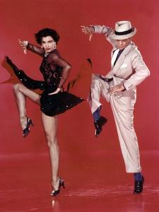 Tous en Scene THE BAND WAGON by VincenteMinnelli with Cyd Charisse and Fred Astaire, 1953 (photo)