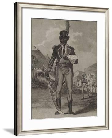 Toussaint Louverture--Framed Giclee Print
