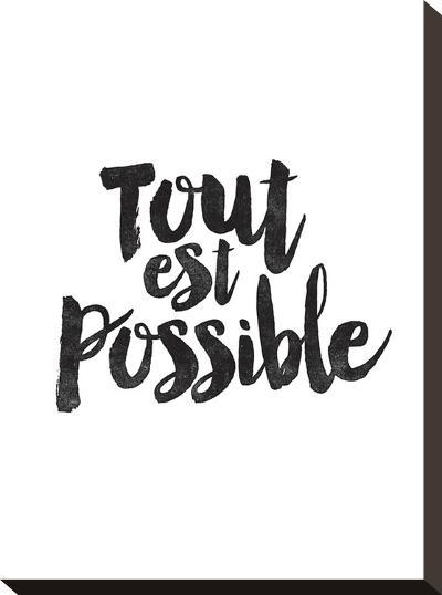 Tout Est Possible-Brett Wilson-Stretched Canvas Print
