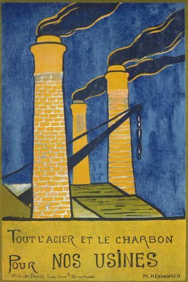 Tout L'Acier Et Le Charbon Pour Nos Usines--Giclee Print