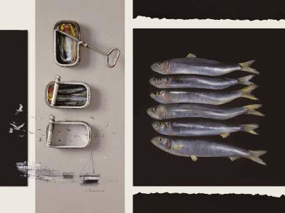 Toute une Vie de Poisson-Jean Marc Chamard-Art Print