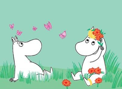 Moominmama and Snorkmaiden by Tove Jansson