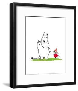 Moomintroll and Little My by Tove Jansson