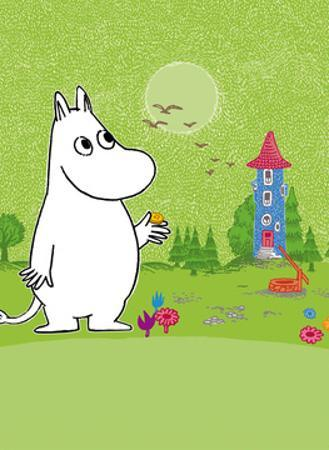 Moomintroll in Moomin Valley by Tove Jansson