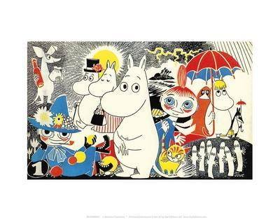 The Moomins Comic Cover 1