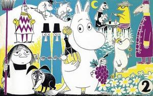 The Moomins Comic Cover 2 by Tove Jansson