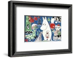 The Moomins Comic Cover 4 by Tove Jansson