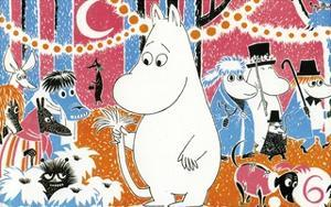 The Moomins Comic Cover 6 by Tove Jansson