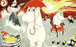 The Moomins Comic Cover 7 by Tove Jansson