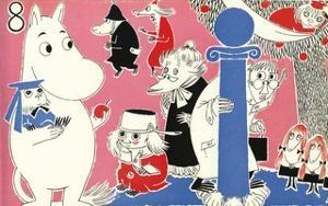 The Moomins Comic Cover 8 by Tove Jansson