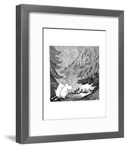Vintage Moomin Illustration by Tove Jansson