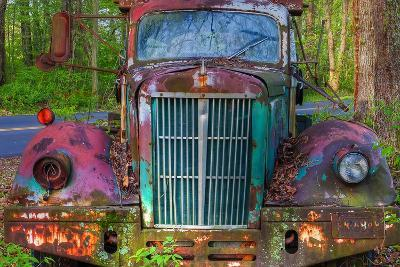Tow Truck Front-Bob Rouse-Photographic Print
