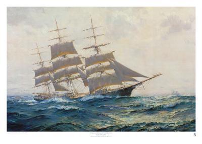 Toward Far Horizons, Ship Triumphant-Frank Vining Smith-Art Print