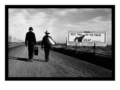 Toward Los Angeles-Dorothea Lange-Art Print