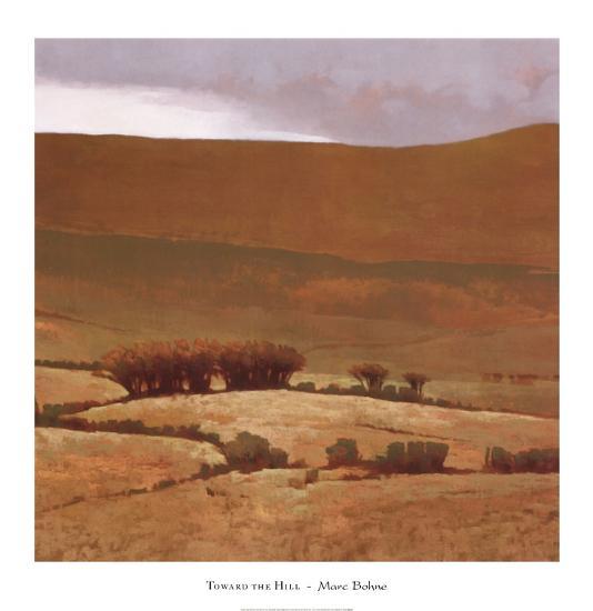 Toward the Hill-Marcus Bohne-Art Print