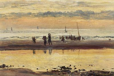 Towards Sunset, Boulogne Sands, 1873-William Lionel Wyllie-Giclee Print