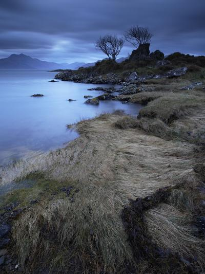 Towards the Scottish Mainland from Camascross, Isle of Skye, Scotland-Jon Gibbs-Photographic Print