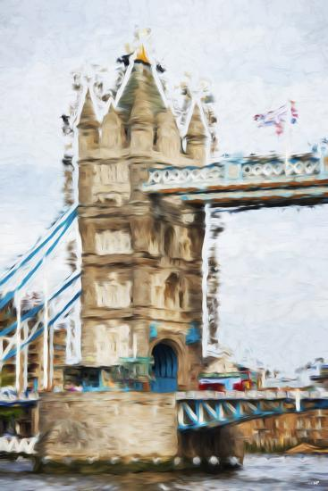 Tower Bridge - In the Style of Oil Painting-Philippe Hugonnard-Giclee Print