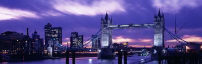 Tower Bridge, Landmark, London, England, United Kingdom--Photographic Print