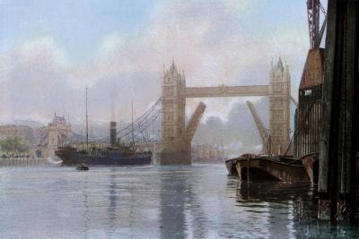 Tower Bridge, London, C1930S--Giclee Print