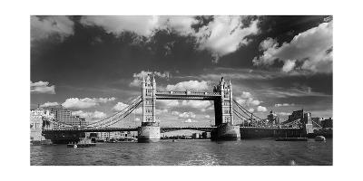 Tower Bridge London England Panorama-Henri Silberman-Photographic Print