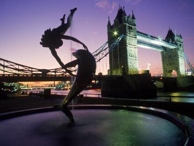 Tower Bridge, London, England, UK-Peter Adams-Photographic Print