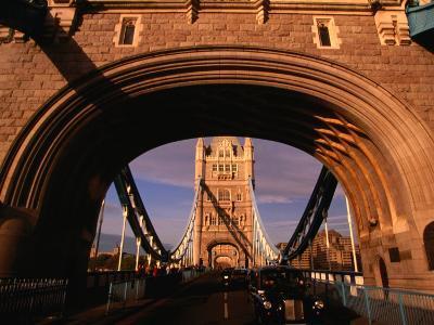 Tower Bridge, London, England-Angus Oborn-Photographic Print