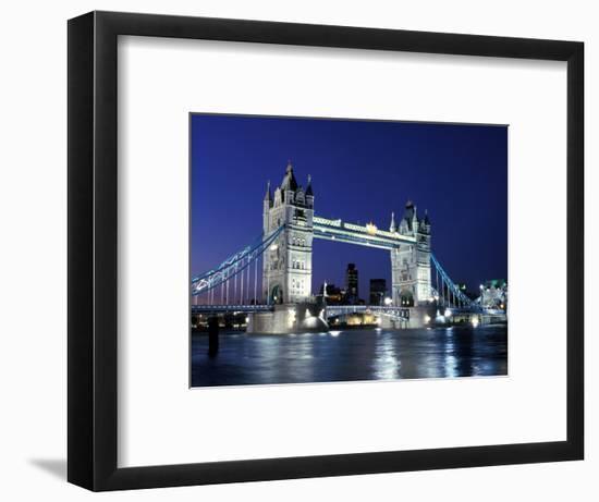 Tower Bridge, London, England-Sergio Pitamitz-Framed Photographic Print