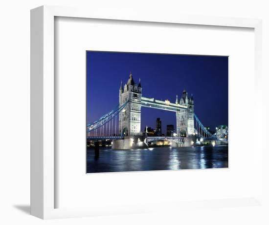 Tower Bridge, London, England-Sergio Pitamitz-Framed Photographic Print