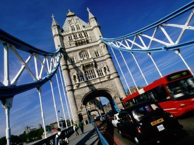 Tower Bridge, London, United Kingdom-Martin Moos-Photographic Print