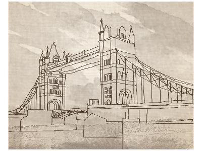 Tower Bridge, London-Irena Orlov-Art Print