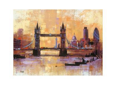 Tower Bridge, London-Colin Ruffell-Art Print
