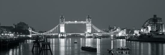 Tower Bridge Reflections-John Harper-Giclee Print