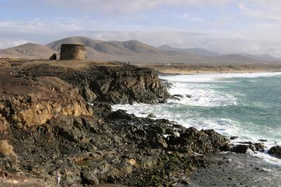 Tower, El Cotillo, Fuerteventura, Canary Islands-Peter Thompson-Photographic Print