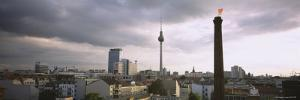 Tower in a City, Berlin, Germany