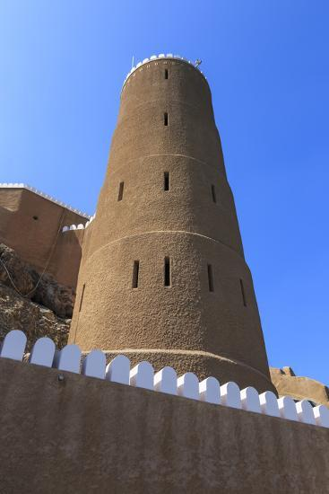 Tower of Al-Mirani Fort, Old Muscat, Oman, Middle East-Eleanor Scriven-Photographic Print