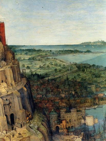 Tower of Babel - Detail-Pieter Breughel the Elder-Art Print