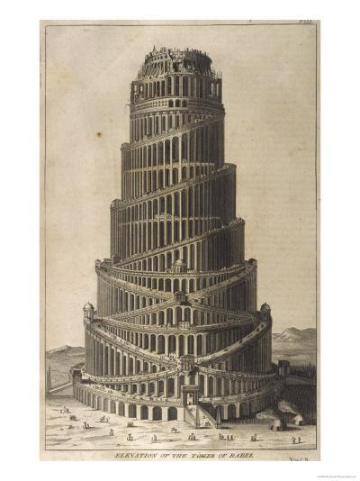Tower of Babel--Giclee Print